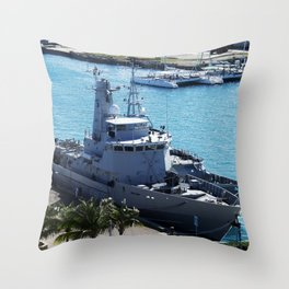 Bahamas Cruise Series 111 Throw Pillow