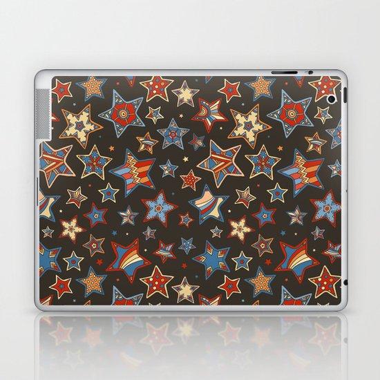 Doodle Stars Laptop & iPad Skin