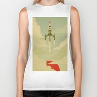journey Biker Tanks featuring The Journey  by Danny Haas