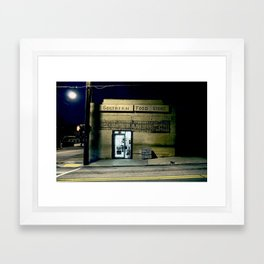 Southern Food Store Framed Art Print