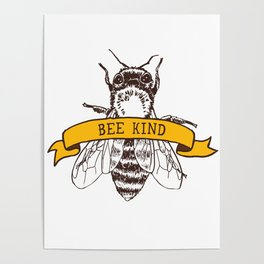 Bee Kind Poster