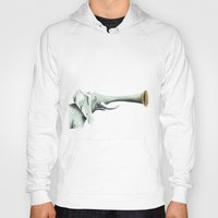trumpet Hoodies featuring Trumpet Color by JoWoSo