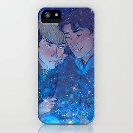 Snow Like Falling Stars iPhone Case
