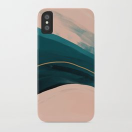 California Watercolor Winter iPhone Case