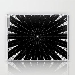 Black White mandala Design Laptop & iPad Skin