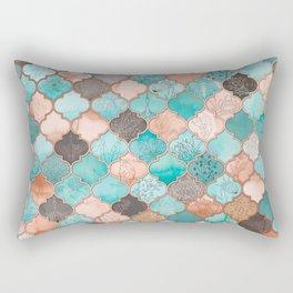 Moroccan pattern artwork print Rectangular Pillow