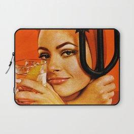 Vodka Martini, A devilishly dry proposition Vintage Pitchfork - Devil Advertisement Poster Laptop Sleeve