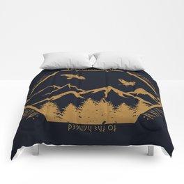 Two ravens flew Comforters
