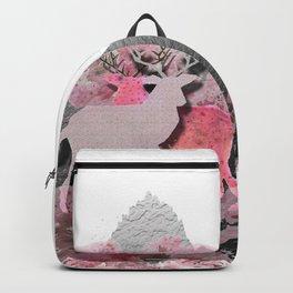 Pink deer Backpack