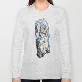 Kyanite crystall Gemstone Long Sleeve T-shirt