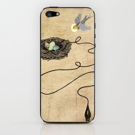 Bird's Winged Flight iPhone Skin