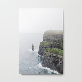 Cliffs of Moher, I Metal Print