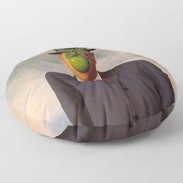 The Son of Man Floor Pillow