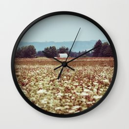 In The Country Wall Clock