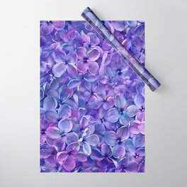 Lilac Petals Wrapping Paper