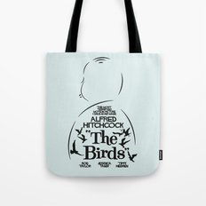 The Birds - Alfred Hitchcock Movie Poster Tote Bag