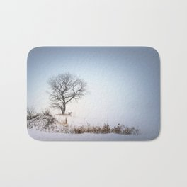 Winter Landscape Bath Mat