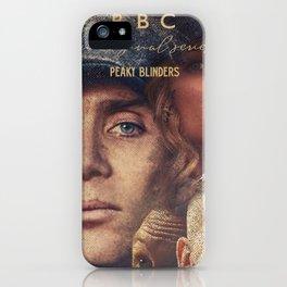 Peaky Blinders, Cillian Murphy, Thomas Shelby, BBC Tv series, Tom Hardy, Annabelle Wallis iPhone Case