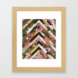 Ascension Pink Framed Art Print