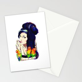 Miss Winehouse Stationery Cards