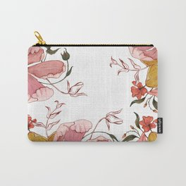 Words that water flowers Carry-All Pouch