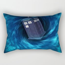 "TARDIS ""Dr. WHO"" Rectangular Pillow"