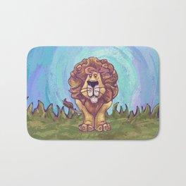Animal Parade Lion Bath Mat