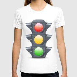 Traffic Lights Realistic T-shirt