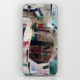 whale in reassembled Kandinsky iPhone Skin