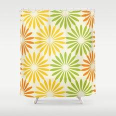 Zesty Burst Shower Curtain