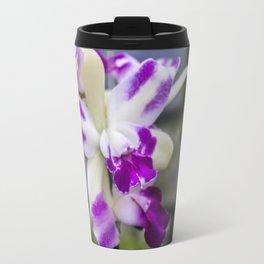 purple & white flowers • nature photography Travel Mug