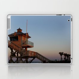 Guard Tower At Dusk Laptop & iPad Skin