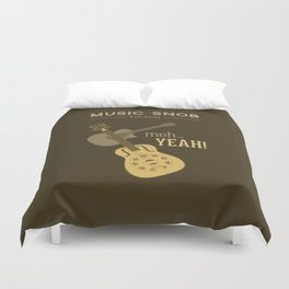 Yeah or Meh: The Acoustic Guitar — Music Snob Tip #102 Duvet Cover