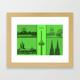 Kölner Dom Framed Art Print