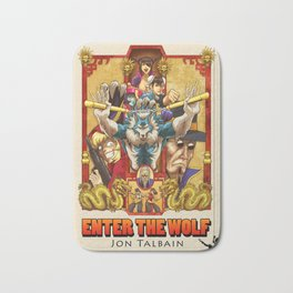 Enter the Wolf Bath Mat