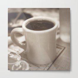 coffee Metal Print