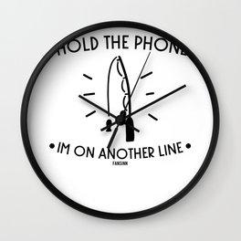 Angel smartphone fish tail Gift Wall Clock