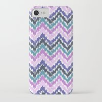 ikat iPhone & iPod Cases featuring Ikat Chevron by Noonday Design