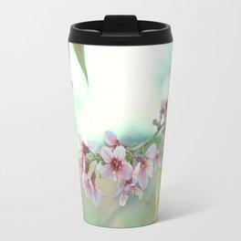 BLOOMING PLUM Travel Mug