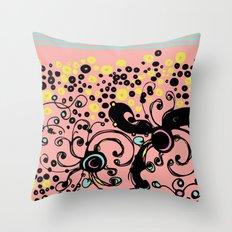 Scribbler Throw Pillow