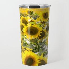 Sunflowers 13 Travel Mug