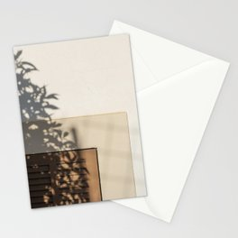 Shadow House Facade Stationery Cards