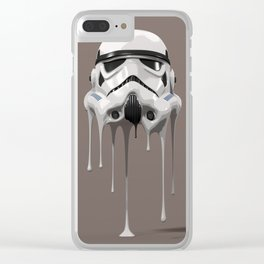 Stormtrooper Melting Clear iPhone Case