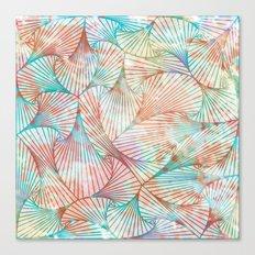 Tie-Dye Tangle Canvas Print