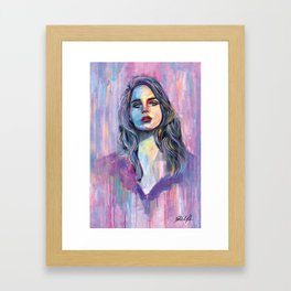 Del Rey Framed Art Print
