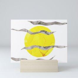 Howl At the Moon, Full Moon Ink Mini Art Print