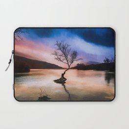Llanberis Lake Tree Laptop Sleeve