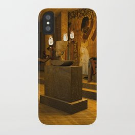 The creation of Queen Nefertiti's bust iPhone Case