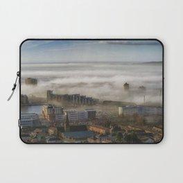 Foggy Swansea City Laptop Sleeve