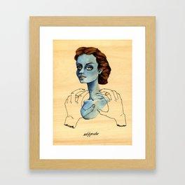 Soffocato Framed Art Print